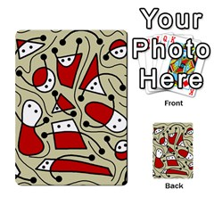 Playful Abstraction Multi Purpose Cards (rectangle)  by Valentinaart