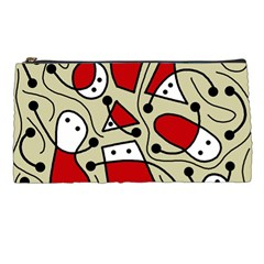 Playful Abstraction Pencil Cases by Valentinaart
