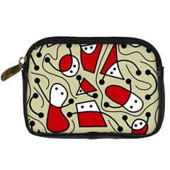 Playful Abstraction Digital Camera Cases by Valentinaart