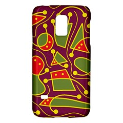 Playful Decorative Abstract Art Galaxy S5 Mini by Valentinaart
