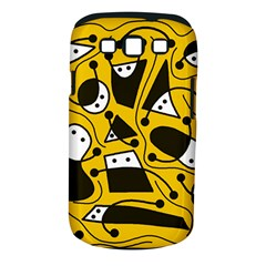 Playful Abstract Art   Yellow Samsung Galaxy S Iii Classic Hardshell Case (pc+silicone)
