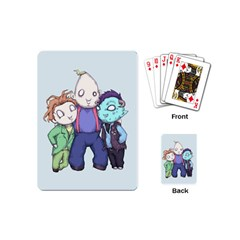 Fred, Sloth, Maurice  Playing Cards (mini)  by lvbart