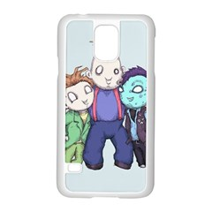 Fred, Sloth, Maurice  Samsung Galaxy S5 Case (white) by lvbart