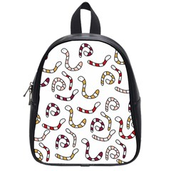 Cute Worms School Bags (small)