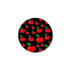 Red Apples  Golf Ball Marker (10 Pack) by Valentinaart