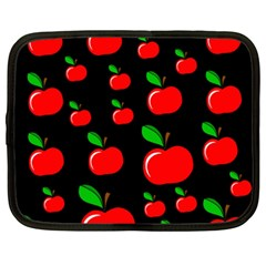 Red Apples  Netbook Case (xxl)  by Valentinaart