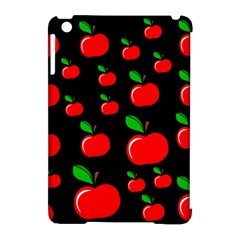 Red Apples  Apple Ipad Mini Hardshell Case (compatible With Smart Cover) by Valentinaart