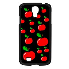 Red Apples  Samsung Galaxy S4 I9500/ I9505 Case (black) by Valentinaart