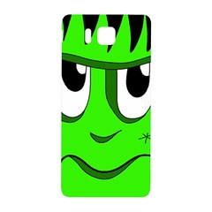Halloween Frankenstein   Green Samsung Galaxy Alpha Hardshell Back Case by Valentinaart