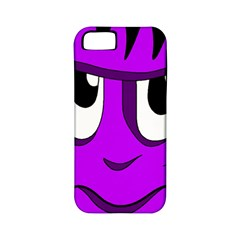 Halloween   Purple Frankenstein Apple Iphone 5 Classic Hardshell Case (pc+silicone) by Valentinaart