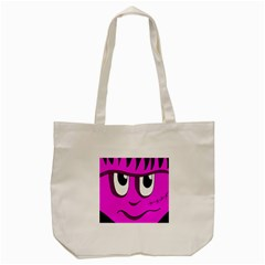 Halloween   Pink Frankenstein Tote Bag (cream) by Valentinaart