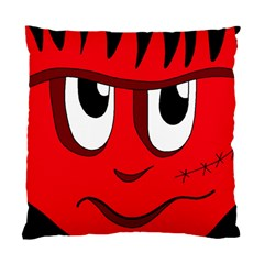 Halloween Frankenstein   Red Standard Cushion Case (one Side) by Valentinaart