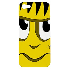 Halloween Frankenstein   Yellow Apple Iphone 5 Hardshell Case by Valentinaart