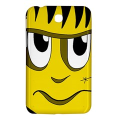 Halloween Frankenstein   Yellow Samsung Galaxy Tab 3 (7 ) P3200 Hardshell Case  by Valentinaart
