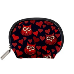 Owl You Need In Love Owls Accessory Pouches (small)
