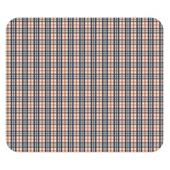 Chequered Plaid Double Sided Flano Blanket (small)