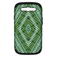 Protect Two Samsung Galaxy S Iii Hardshell Case (pc+silicone) by MRTACPANS