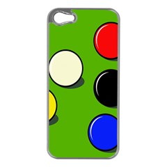 Billiard  Apple Iphone 5 Case (silver) by Valentinaart