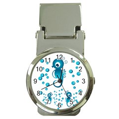 Seahorsesb Money Clip Watches