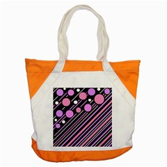 Purple Transformation Accent Tote Bag by Valentinaart