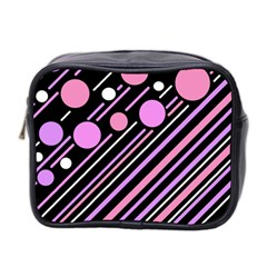Purple Transformation Mini Toiletries Bag 2 Side by Valentinaart