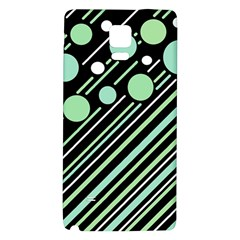 Green Transformaton Galaxy Note 4 Back Case by Valentinaart