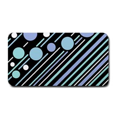 Blue Transformation Medium Bar Mats by Valentinaart