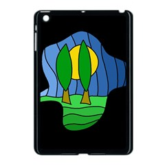 Landscape Apple Ipad Mini Case (black) by Valentinaart