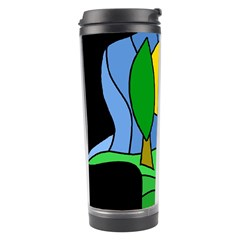 Landscape Travel Tumbler by Valentinaart