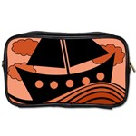 Boat - red Toiletries Bags 2-Side Front