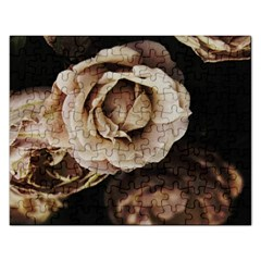 Roses Flowers Rectangular Jigsaw Puzzl