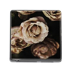 Roses Flowers Memory Card Reader (square) by vanessagf