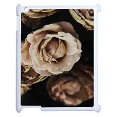 Roses Flowers Apple Ipad 2 Case (white) by vanessagf