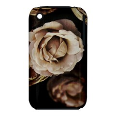 Roses Flowers Apple Iphone 3g/3gs Hardshell Case (pc+silicone) by vanessagf