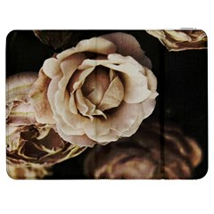 Roses Flowers Samsung Galaxy Tab 7  P1000 Flip Case by vanessagf