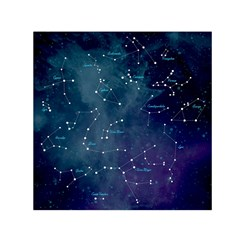 Constellations Small Satin Scarf (square) by DanaeStudio