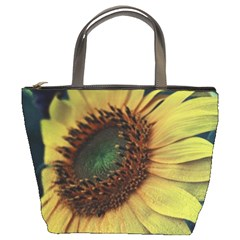 Sunflower Photography  Bucket Bags by vanessagf