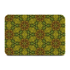 Camo Abstract Shell Pattern Plate Mats