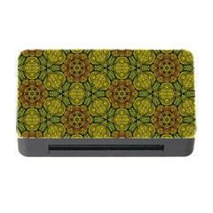 Camo Abstract Shell Pattern Memory Card Reader With Cf by TanyaDraws