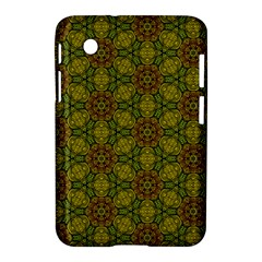 Camo Abstract Shell Pattern Samsung Galaxy Tab 2 (7 ) P3100 Hardshell Case  by TanyaDraws