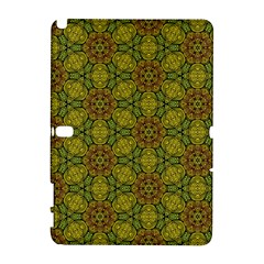 Camo Abstract Shell Pattern Samsung Galaxy Note 10 1 (p600) Hardshell Case by TanyaDraws