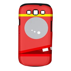 Cute Face Samsung Galaxy S Iii Classic Hardshell Case (pc+silicone)