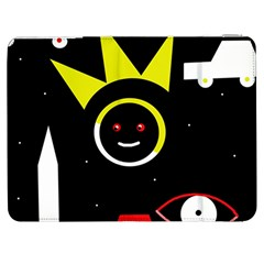 Stay Cool Samsung Galaxy Tab 7  P1000 Flip Case by Valentinaart