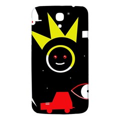 Stay Cool Samsung Galaxy Mega I9200 Hardshell Back Case by Valentinaart