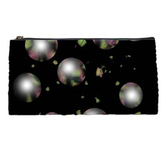Silver Balls Pencil Cases by Valentinaart