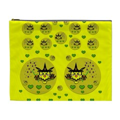 Wizard Mice In Fairy Dust Popart Cosmetic Bag (xl) by pepitasart