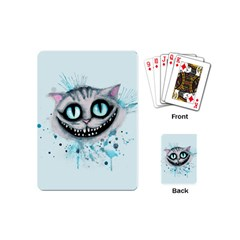 Cheshire Watercolor  Playing Cards (mini)  by lvbart