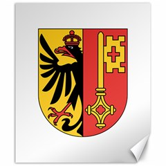 Coat Of Arms Of Geneva Canton  Canvas 20  X 24