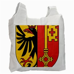 Coat Of Arms Of Geneva Canton  Recycle Bag (two Side)