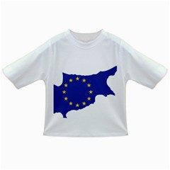European Flag Map Of Cyprus  Infant/toddler T Shirts